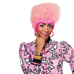 Nicki Minaj Pink High Top Wig