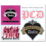 Pussycat Dolls Magnet Set