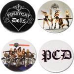 Pussycat Dolls Button Set