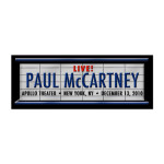 Paul McCartney Marquee Pin