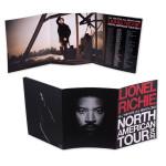 Lionel Richie Tri-Fold 2014 Tour Program