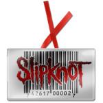 Slipknot Barcode Ornament