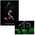Usher 2011 OMG Tour Program