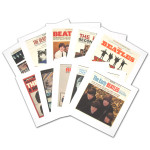 The Beatles Album Cover Lithograph Collectors Set