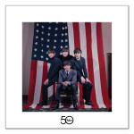 The Beatles American Flag Lithograph
