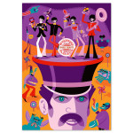 The Beatles SHAG Autographed Screen Print - Variant A -