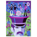 The Beatles - SHAG Autographed Screen Print - Variant B