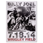Billy Joel Wrigley Propaganda Litho