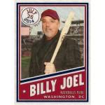 Billy Joel DC Baseball Card Litho