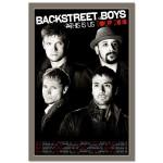 Backstreet Boys This Is Us 2010 Tour Litho