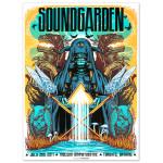 Soundgarden Molson Amphitheatre Print