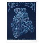 Soundgarden Motor Bones Print