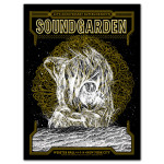 Soundgarden 20th Anniversary Superunknown Webster Hall Poster