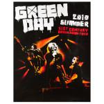 Green Day Summer 2010 Admat Poster