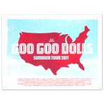 Goo Goo Dolls Tour Litho