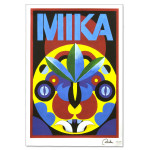 Mika Tribal Mask Poster