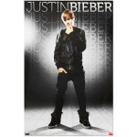 Justin Bieber Gray Poster