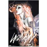 Lady Gaga Orange Hair Poster