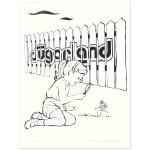 Sugarland 8/27/09 Charlottesville, VA Event Poster