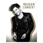 Adam Lambert Gold Litho