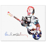 Paul McCartney Mirage Canvas Print