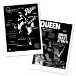 Queen: Live At The Rainbow '74 Print