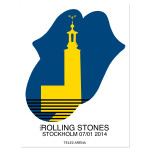 Rolling Stones  Stockholm Tongue Tower Poster