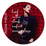 Alicia Keys Head In The Clouds Sticker