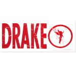 Drake Angel Decal