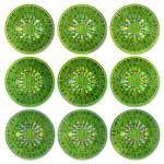 M.I.A. Green Sticker Sheet