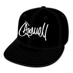 Axwell Script Flat Brim Hat