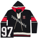 Three Days Grace Hockey Hoodie