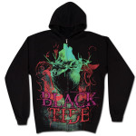 Black Tide Heart and Thorns Zip Hoodie