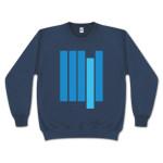 Blue Note Bars Crew Neck Sweatshirt
