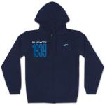 Blue Note 1939 Zip Up Sweatshirt