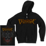 Bullet For My Valentine Winged Skull Zip Hoodie