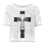 Cher Cross Fashion Girls Top