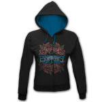 Escape The Fate Rose Circle Juniors Zip Hoodie