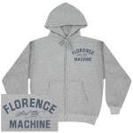 Florence and The Machine Logo Zip Hoodie