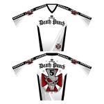 Iron Cross White Moto Jersey