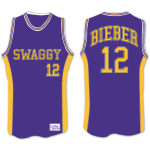 Justin Bieber Youth Swaggy Basketball Jersey