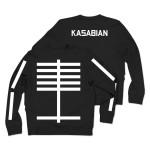 Kasabian Lines Crew Neck Sweatshirt