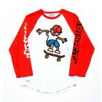 Trukfit ¾ Sleeve Ollie Tommy Raglan Shirt