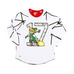 Trukfit Geo Shatter Raglan Shirt