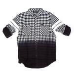 Trukfit Dip Dye Plaid Shirt