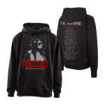 Black and White Wayne Tour Pullover