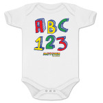 Motown The Musical Motown A-B-C/1-2-3 Onesie