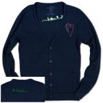 Paul McCartney Women's Heart Cardigan
