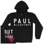 Paul McCartney Red Glow Zip Hoodie