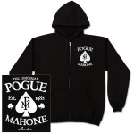 The Pogues Black Spade Zip Hoodie